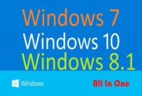 Download Gratis Windows 7 8.1 10 AIO Terbaru