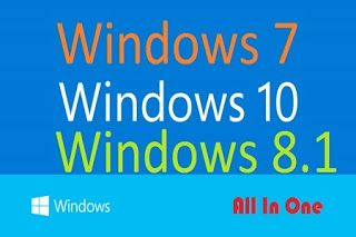 Windows 7, 8.1, 10 AIO (46in1) June 2017