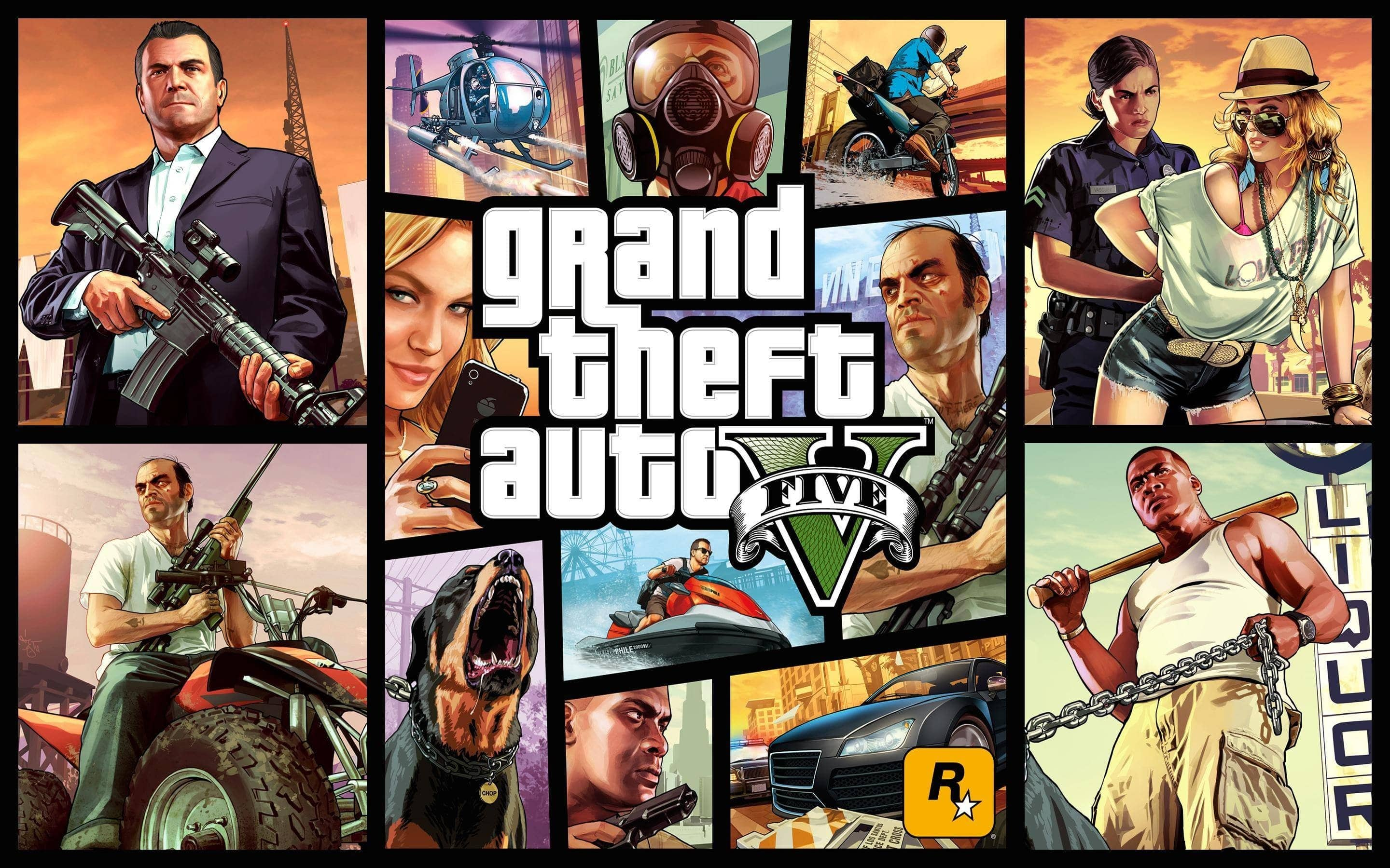 Download Grand Theft Auto V (GTA 5) Terbaru Full Version + Repack