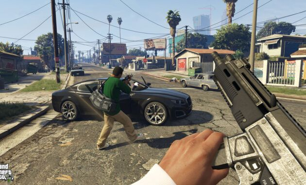 GTA V Gameplay - 2