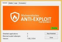 Download Gratis Malwarebytes Anti-Exploit for Business Terbaru Full Version