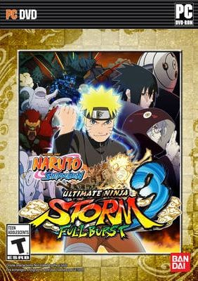 Naruto Shippuden Ultimate Ninja Storm 3 Full Burst Full Version (PROPHET)