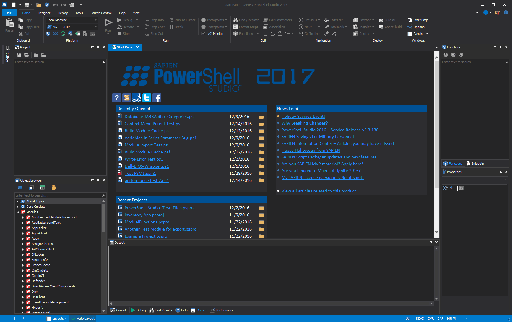 Download Gratis PowerShell Studio 2017 Terbaru Full Version