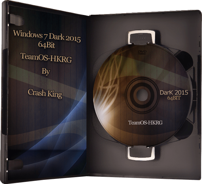 Windows 7 Dark Edition 2015 (x64)