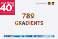 Download Gratis 640 + Free (149) Adobe Illustrator Gradients
