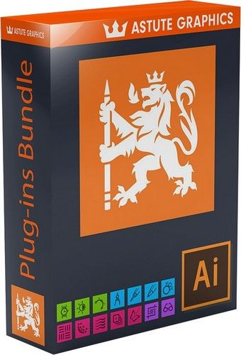 Download Gratis Astute Graphics Plug-ins Bundle 1.1.6 + Pro Texture Packs (Adobe Illustrator)
