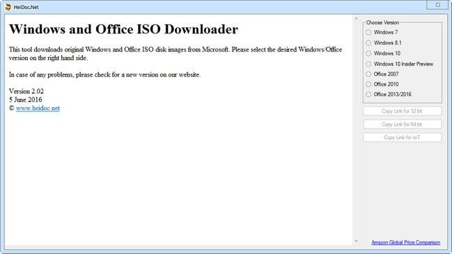 Microsoft Windows and Office ISO Download Tool 5.00
