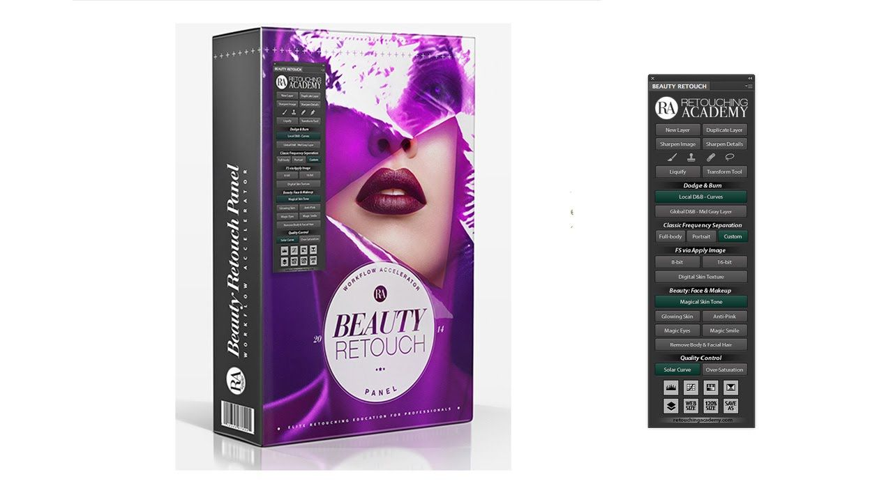 Download Gratis Ra Beauty Retouch Panel + Pixel Juggler