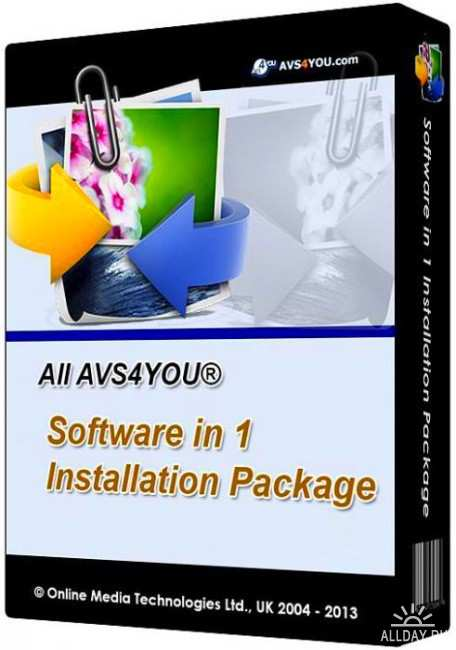 AVS4YOU Software AIO Installation Package 4.0.1.145 Full Version