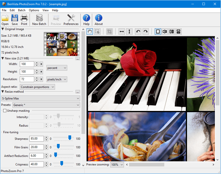 Download Gratis BenVista PhotoZoom Pro Full Version