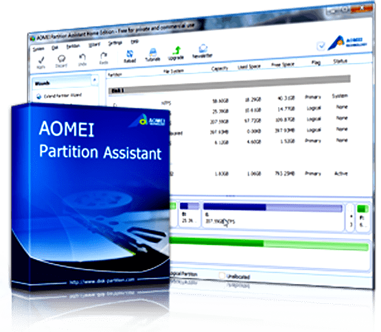 AOMEI Partition Assistant All Editions 6.5 Full Version