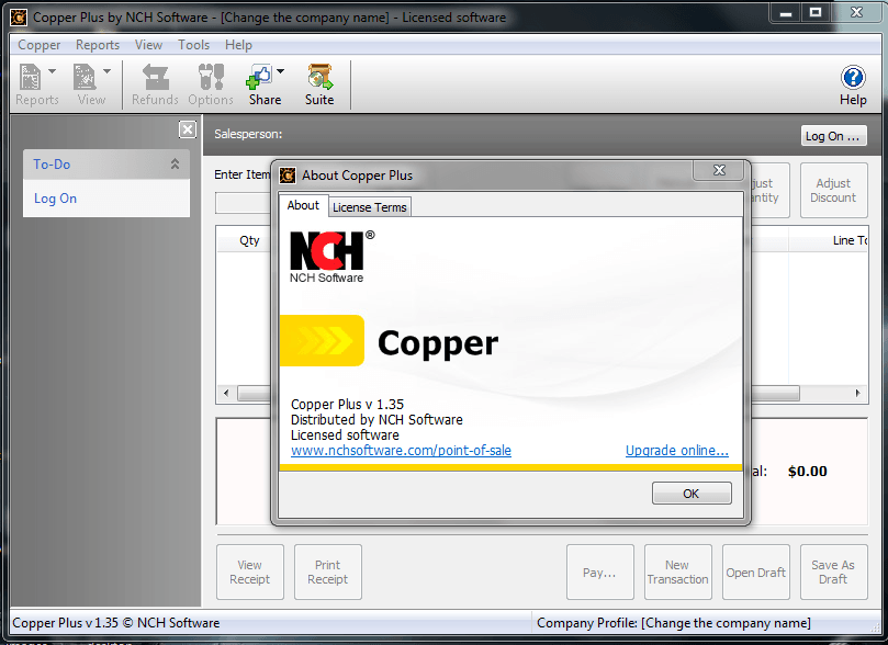 Copper Point of Sales Software 1.39 Full Version (Software Kasir / Toko)