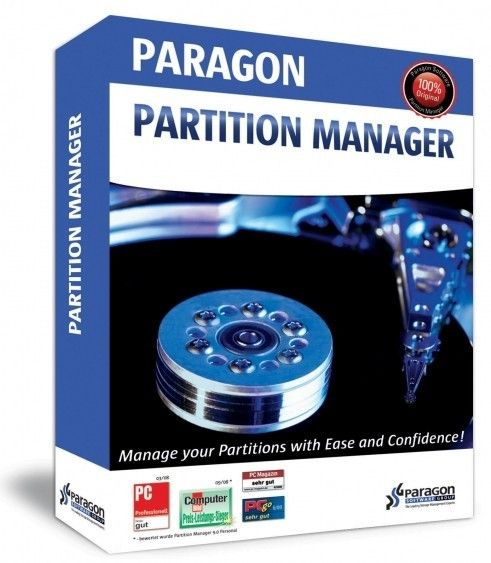 Paragon Partition Manager 15 Professional 10.1.25.779 Full Version