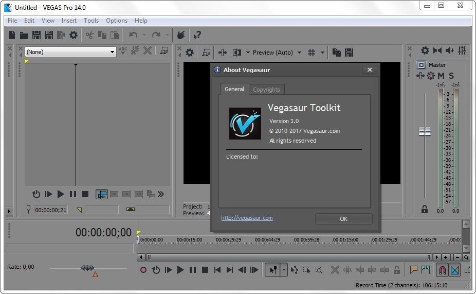 Download Gratis Vegasaur Toolkit Full Version