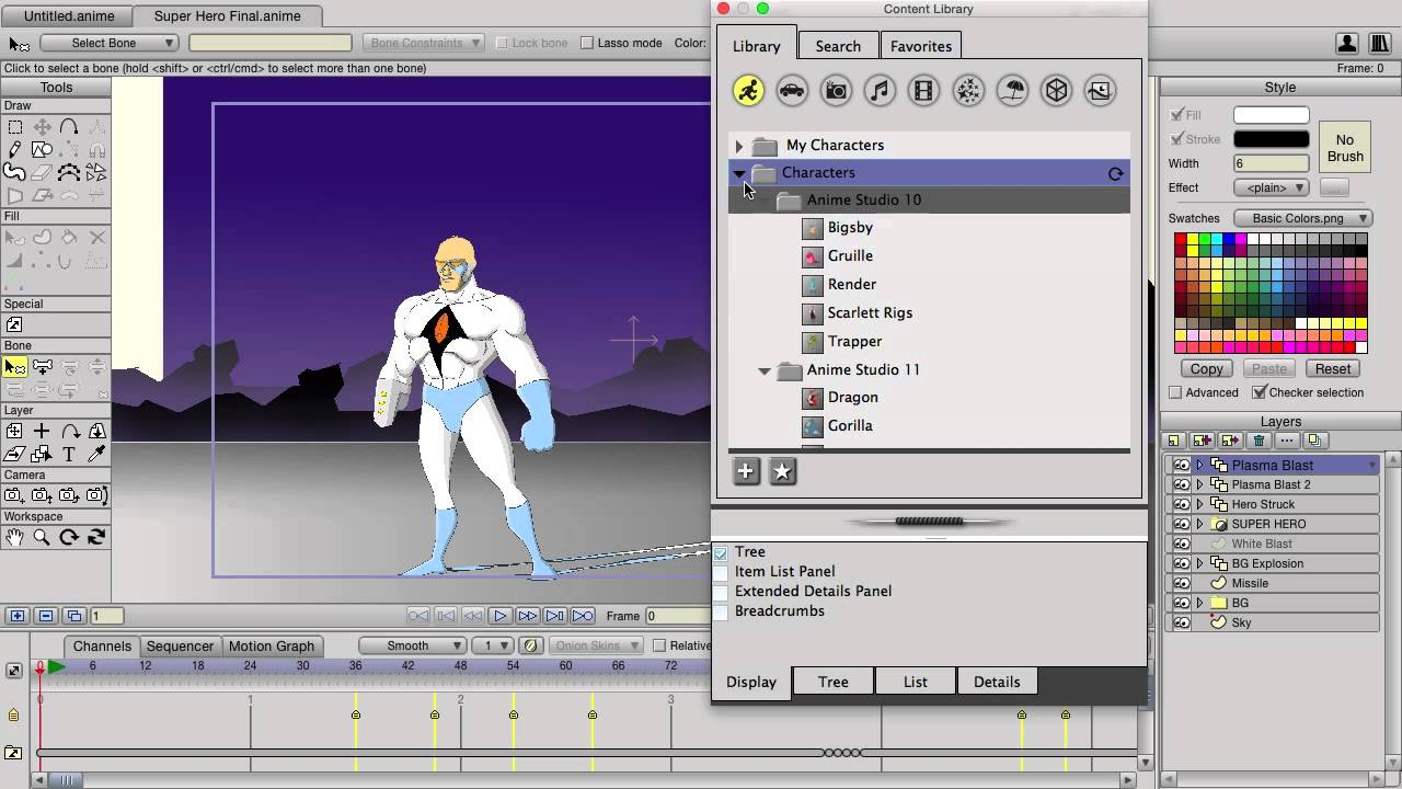 Download Gratis Smith Micro Anime Studio Pro 11 Full Version