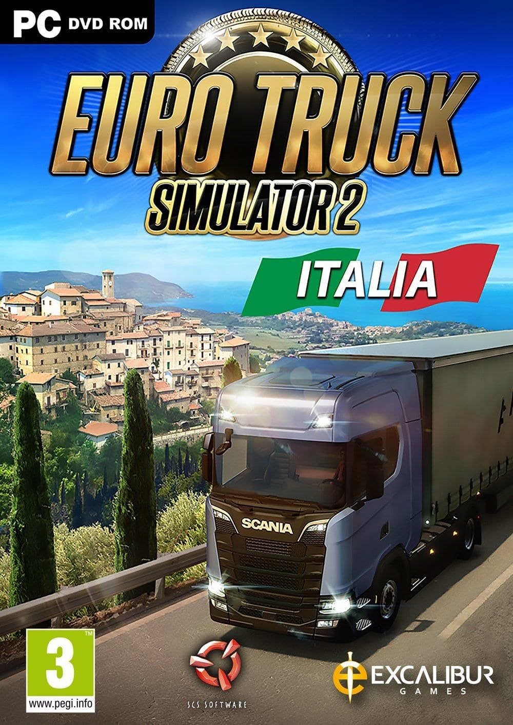 Euro Truck Simulator 2 Italia Full Version (CODEX)