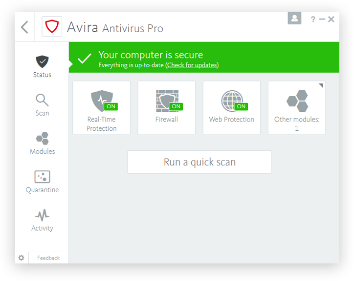 Download Gratis Avira Antivirus Pro Full Version Terbaru