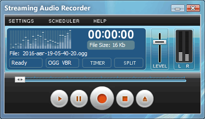 Download Gratis Streaming Audio Recorder Full Version