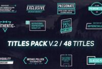 Download Gratis Titles Pack V.2 (Videohive - 21032468)