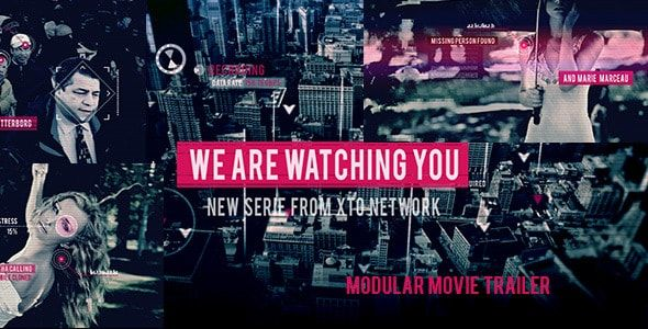 Download Gratis Watching You Movie Trailer (Videohive - 8541201)