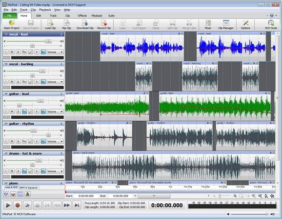 Download Gratis NCH MixPad Master's Edition Full Version