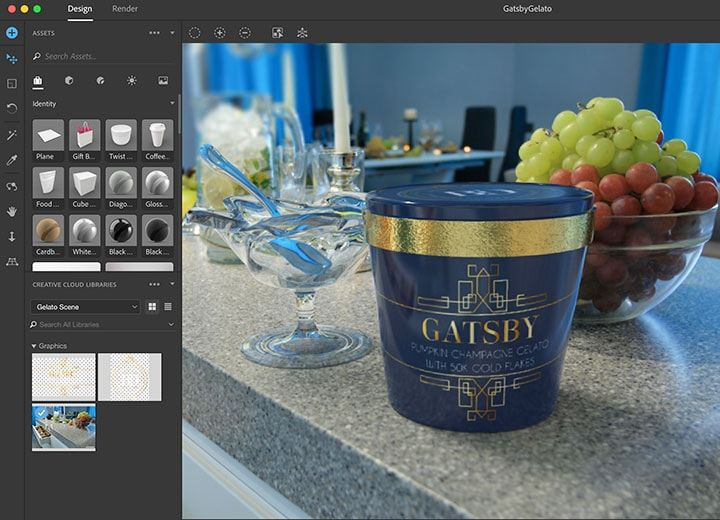 Download Gratis Adobe Dimension CC 2018 Full Version