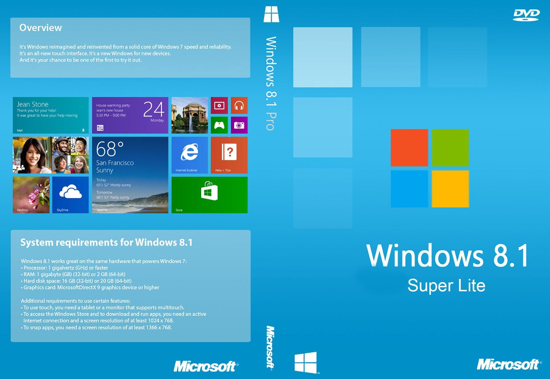 Download Gratis Windows 8.1 Lite Edition