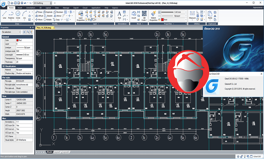 Download Gratis GstarCAD 2018 Full Version