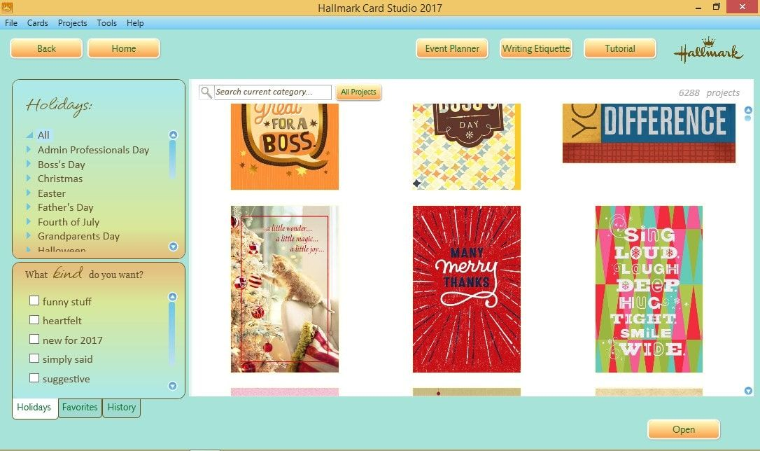 Download Gratis Hallmark Card Studio 2018 Deluxe Full Version