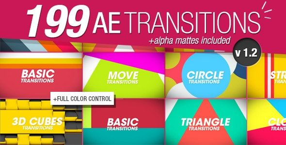 Download Gratis 199 Transitions Pack v1.2
