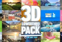 Download Gratis 3D Lowerthird Title Pack - (Videohive)