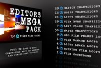 Download Gratis Motion Graphic – Editors Mega Pack (Videohive)