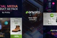 Download Gratis Social Media Product Ad Pack (Videohive)