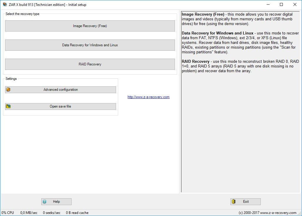 Download Gratis Zero Assumption Recovery Full Version