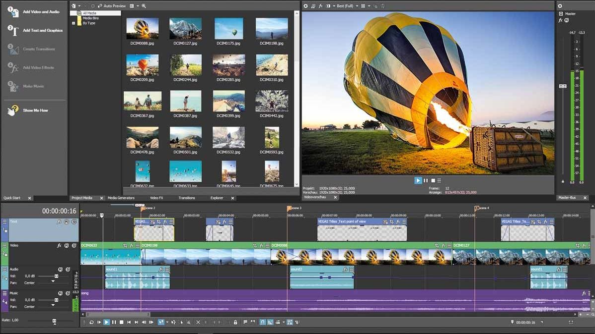 Download Gratis MAGIX VEGAS Movie Studio Platinum 15 Full Version