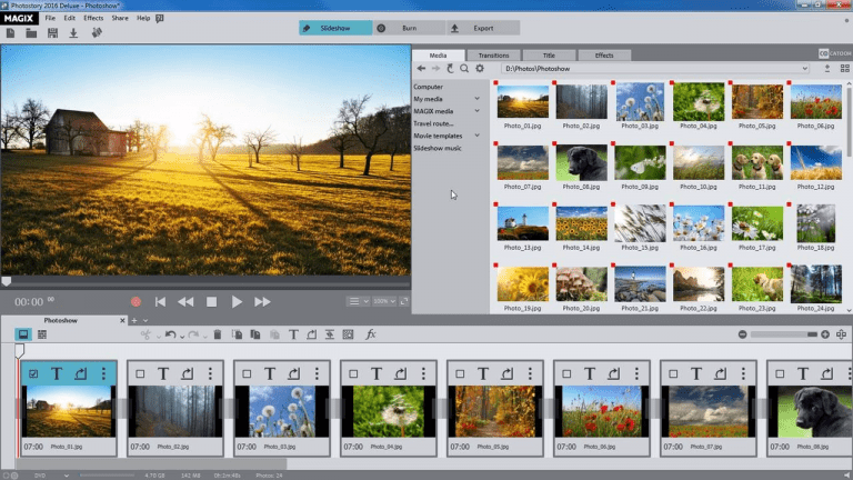 Download Gratis MAGIX Photostory Deluxe 2019 Full Version-1
