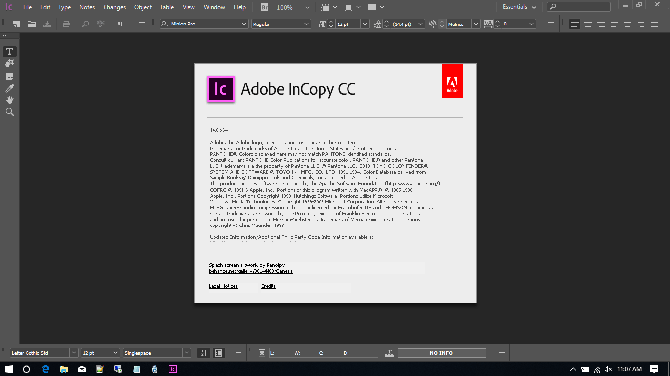 Adobe InCopy CC 2019 Full Version