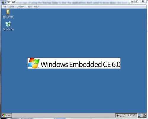 Windows Embedded CE 6