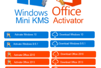 Windows and Office Mini KMS Activator