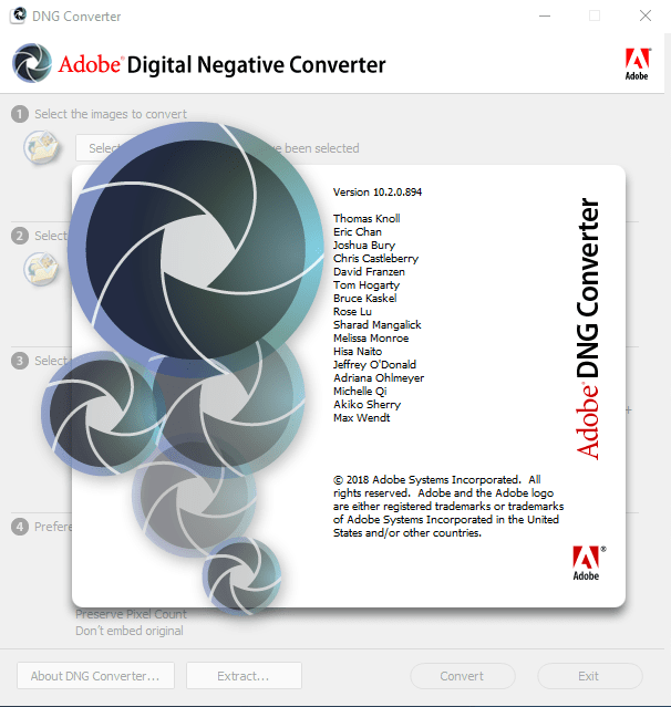 Download Gratis Adobe DNGConverter