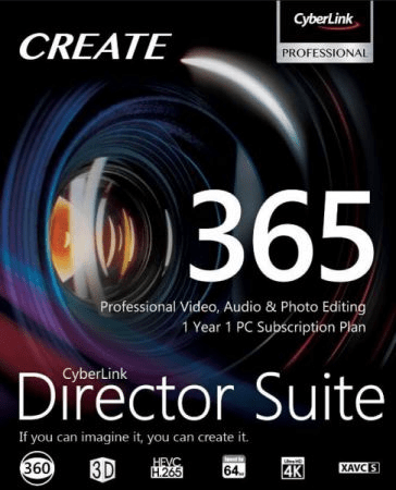 Download Gratis CyberLink Director Suite 365 Full Version