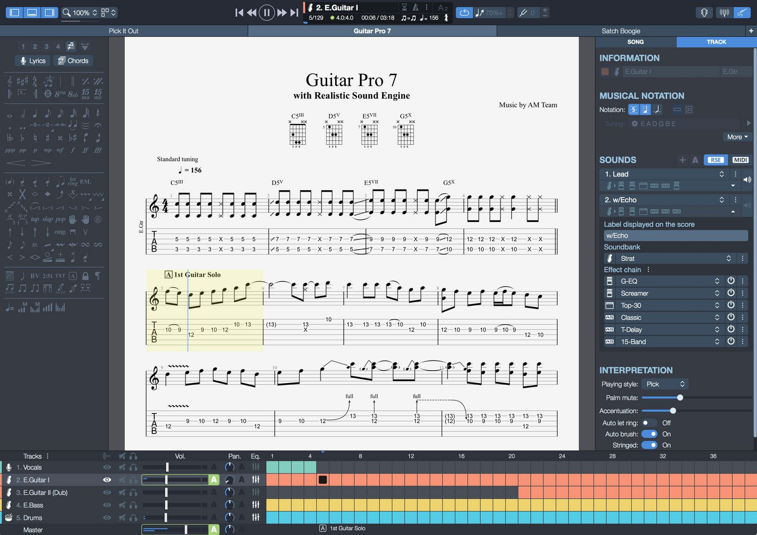 Download Gratis Guitar Pro 7 Terbaru