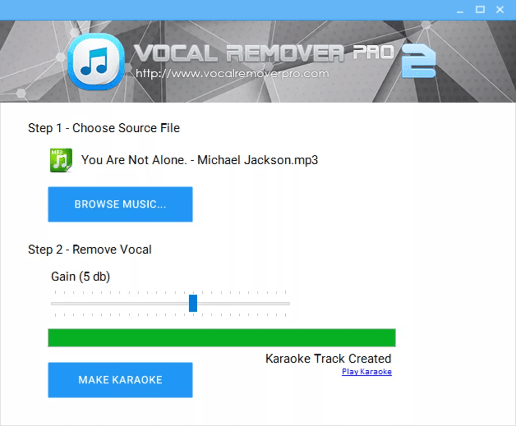 Download Gratis Vocal Remover Pro Terbaru