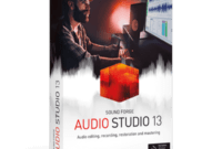 Download Gratis MAGIX SOUND FORGE Audio Studio 13 Full Version