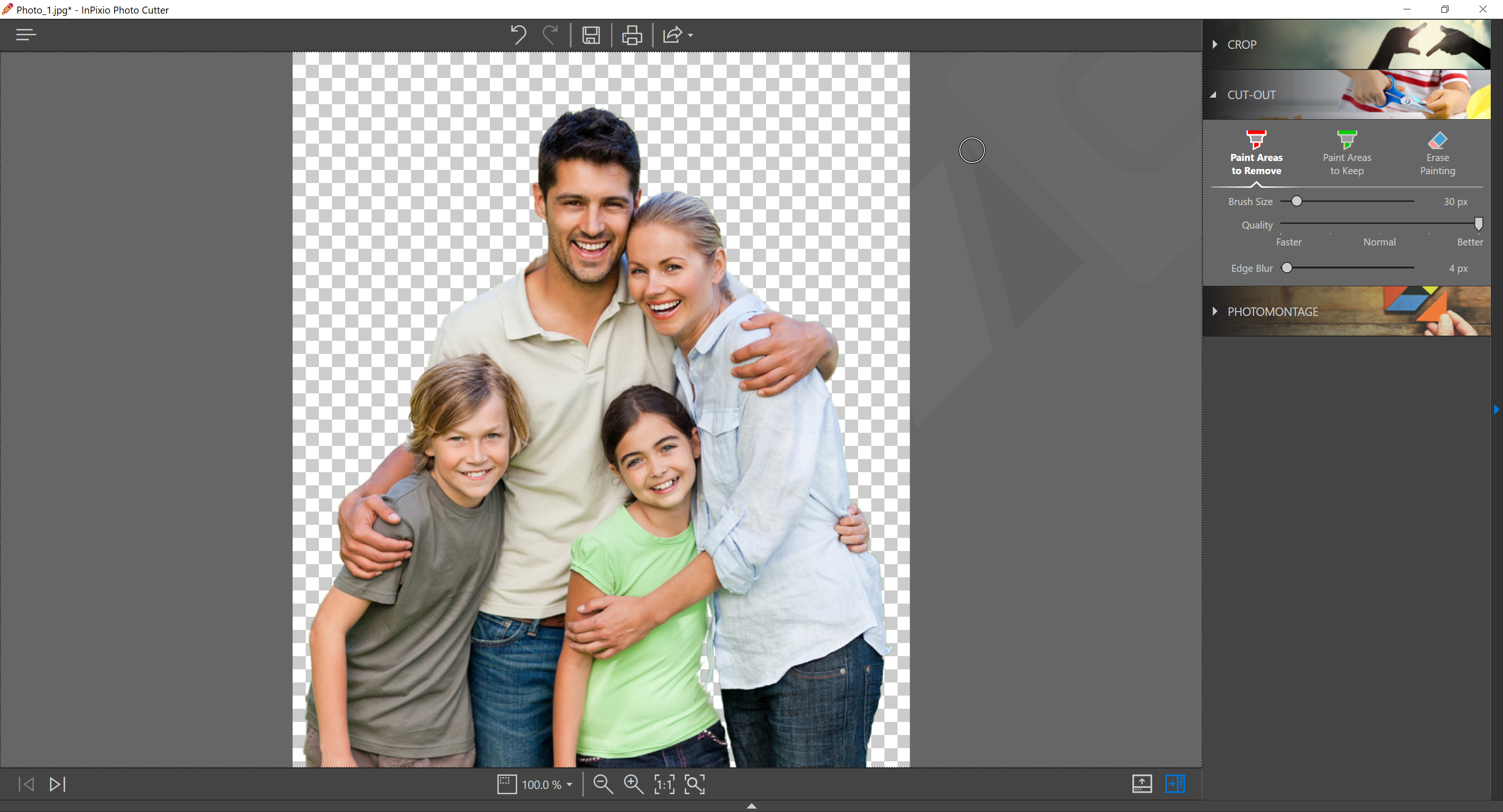 InPixio Photo Cutter Full Version