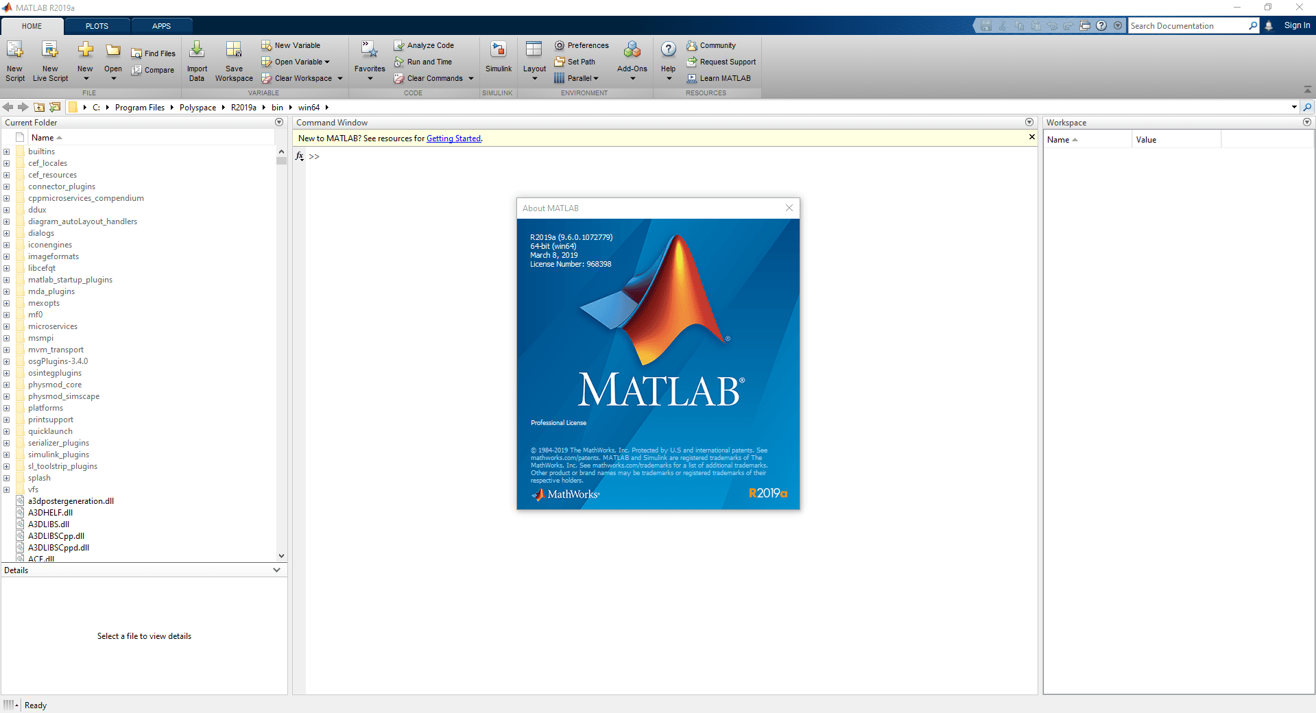 Download Gratis MathWorks MATLAB R2019a Terbaru