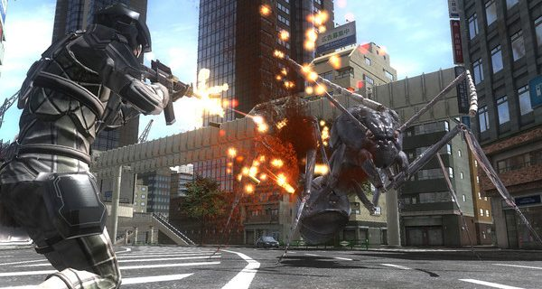 Earth Defense Force 4.1 The Shadow Of New Despair – 01