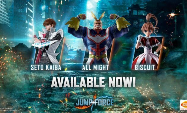 Jump Force V1.11 + Character Pack Full Version (CODEX)