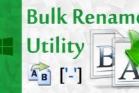 Download Gratis Bulk Rename Utility Full Version