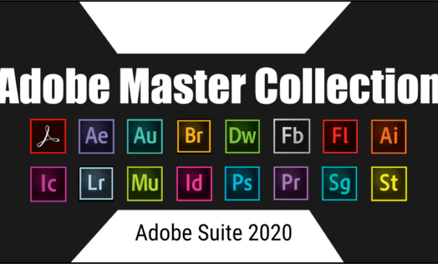 Adobe Master Collections 2020 Full Version